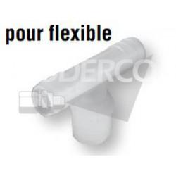 Té de tuyau X pour flexible...