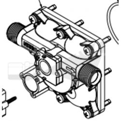 Tête de pompe SHURFLO seul 5040-2301-h011