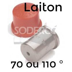 Embout cône plein laiton XL-TN