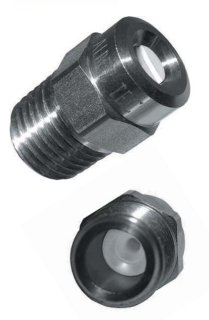 Buse de pulvérisation XS-UAS haute pression avec insert en céramique