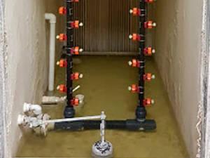 humidification d'air par pulvérisation d'eau