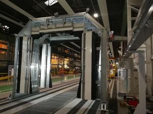 test d'étanchéité des portes du métro